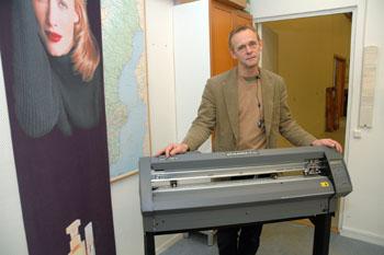 Jan Heintz, grundare och ägare av Jankar AB som nu döpts om till SIGNCOM till vardags och SIGN COMMUNICATION SWEDEN AB i officiella sammanhang<br />