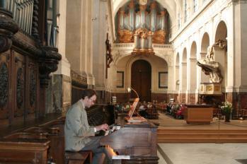 Marcus Torén improviserar i Saint-Roch