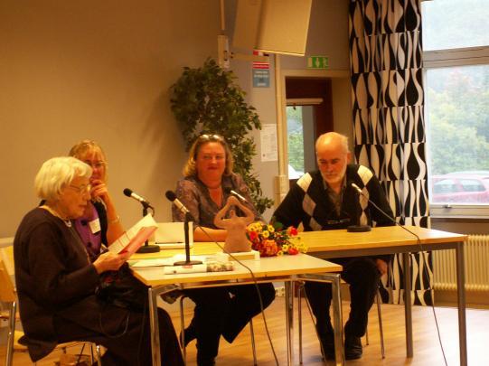 Från vänster: Karin Dahl, Inger Nordheden, Ann S Pihlgren och Lars Lindström