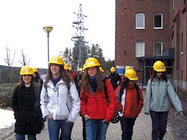 Studiebesök på Älvkarleby kraftstation