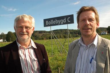 Kommunalråden Christer Johansson och Peter Rosholm har nu dragit igång planeringsarbetet kring Götalandsbanans närvaro i Bollebygd.