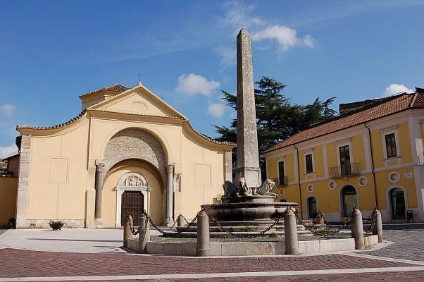 Santa Sofia, a Longobard church in the centre of Benevento