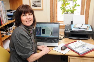 Bland snömassorna vid Västra Nedsjön bor och verkar Maria Qvarnström som  nyutnämnd ambassadör för kvinnligt företagande i Sverige samtidigt som hon  startat ... 118c4a2703fbf