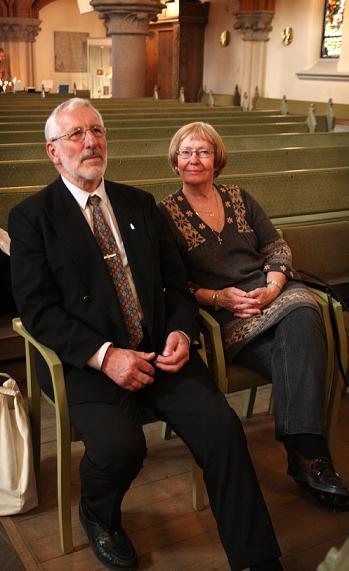 Två trogna årsmötesdeltagare: Eva Örtenblad och Dan Danielsson