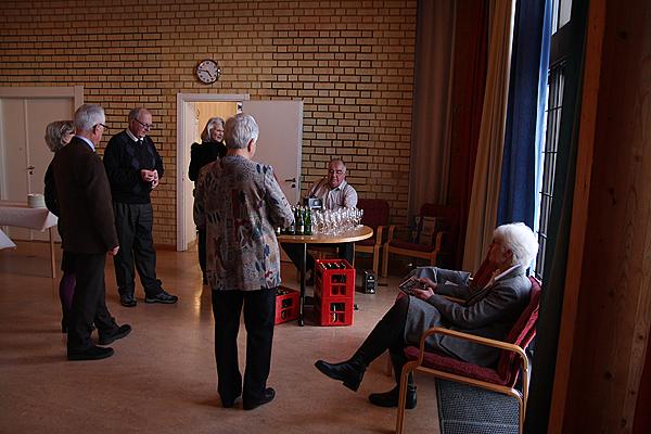<span>Åkersberga orgelgrupp stod för lördagseftermiddagens arrangemang.</span>