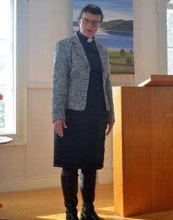 Anns predikan betonade vikten av tillit...