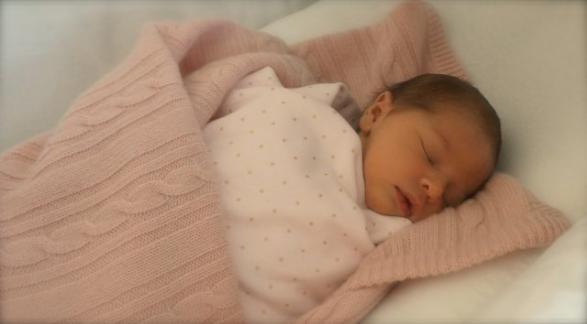 Första bilden på den nya prinsessan, Hertiginnan av Gotland.