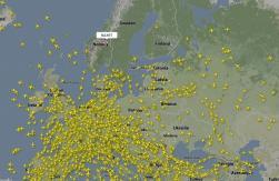 Om man slumpvis pekar på ett plan i Norge....