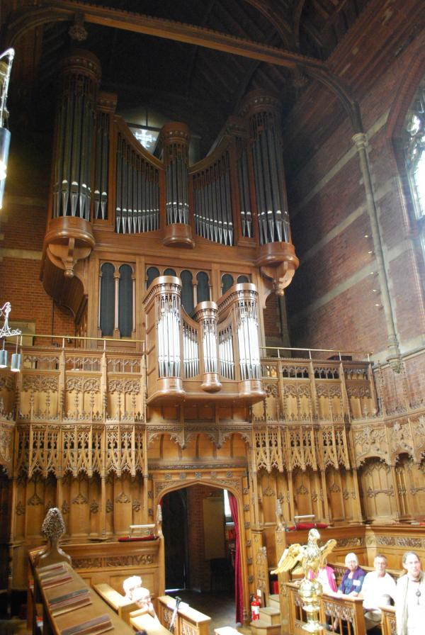 Kanadensisk orgel i Cambridge – Selwyn College