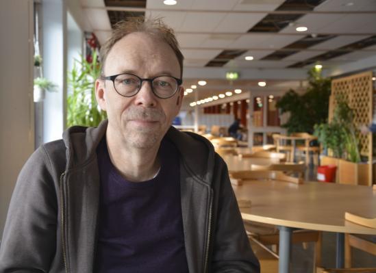 Magnus Sandberg, lärare på Staffangymnasiet i Samhällskunskap och svenska.