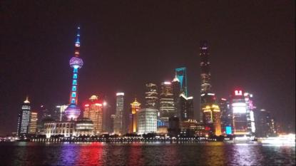 Shanghais berömda siluett
