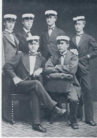 Vasaskolans alla studenter 1877