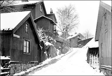 Gråbergsgatan på Gråberget 1914.