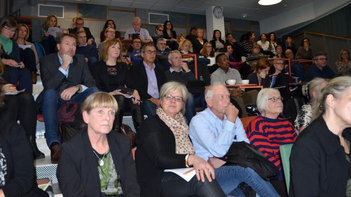Göteborgs Överenskommelses utvärderingskonferens lockade ungeför nittio deltagare. Alltifrån politiker och tjänstemän på olika nivåer inom Göteborgs Stad, till representanter för stora och små idéburna organisationer.