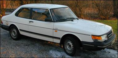 Saab 900 -83, länets mest stulna bil.