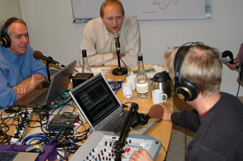 Christer Berens fick möjlighet att fråga sina norska radiokollegor Björn Fuarlun och Tor Andersson om hur det upplevt besöket i Bollebygd.<br />