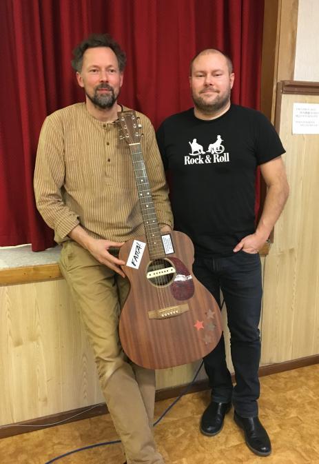 David Olsson och Johan Svedberg