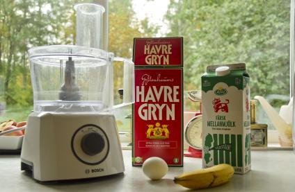 Ingredienser till smoothie