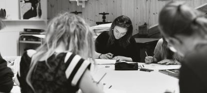 Från bild- och formutbildningen vid Vasaskolan