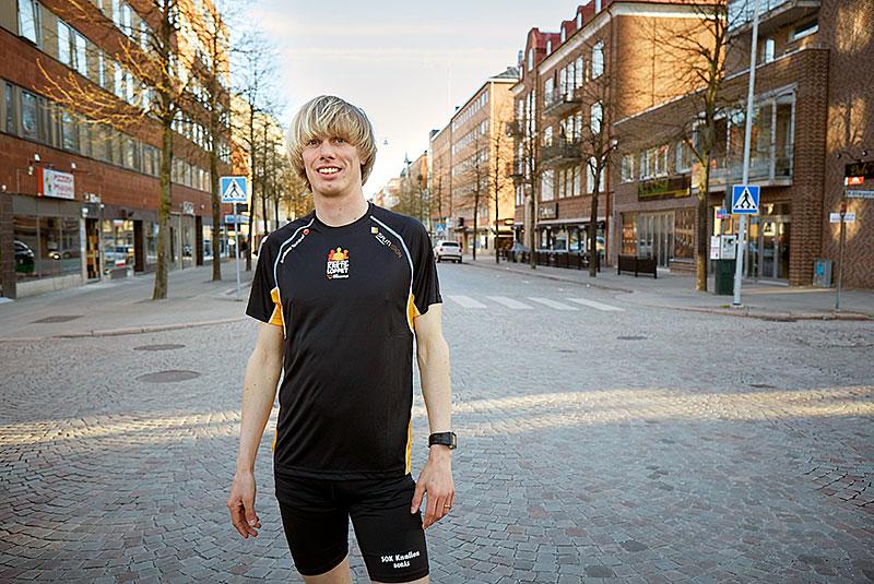 Kresloppsambassadör. Vem passar bättre som ambassadör för Borås eget lopp än konditionsgurun Erik Wickström?