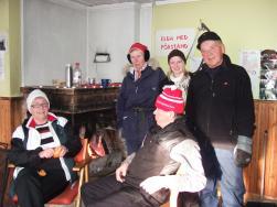 Bilden är från 2010 och Peppe står längst till höger på bilden.