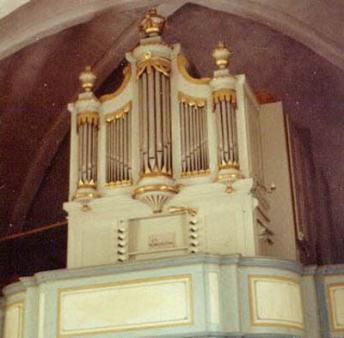 Schwanorgeln i Hökhuvuds kyrka