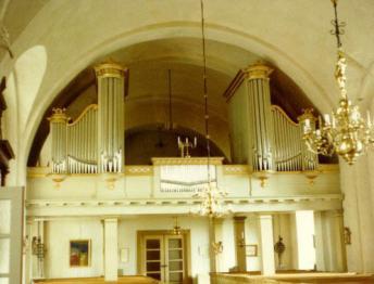 Orgeln i Haråkers kyrka