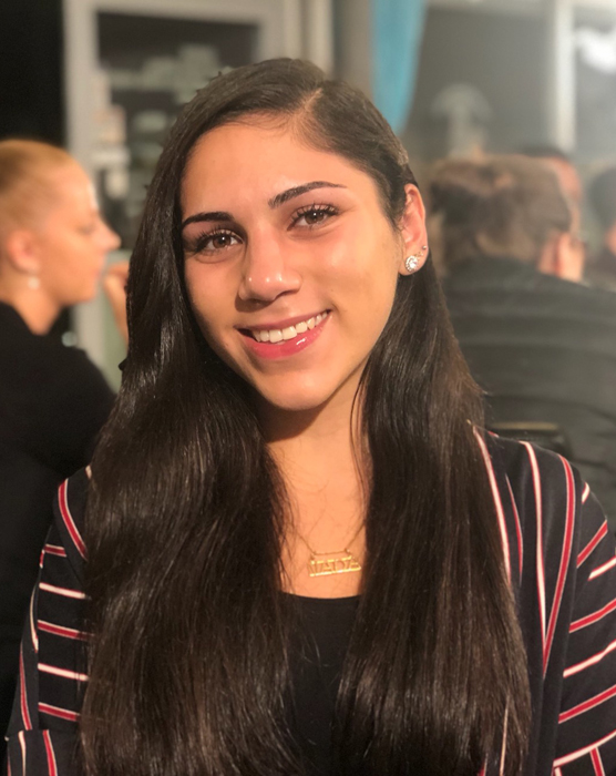 <span>Neda Mohamed Ali, elevkårens ordförande, ledde elevkårens arbete med skolvalet.</span>