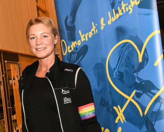 Martina Ehnar - idrottskonsulent hos SISU - men även en gång<br />Bollebygdsbo.