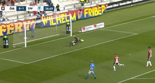 TrelleborgsSafiu gör matchens enda mål