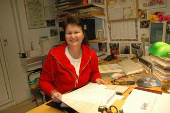 Glad var planeringssekreterare Ann-Marie Nilsson eftersom femton intresserade dök upp när hon tillsammans med Nyföretagarcentrum arrangerade informationsträff om nyföretagande i Bollebygd.