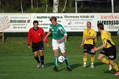 Andreas Alfredsson - vald till matchens lirare.