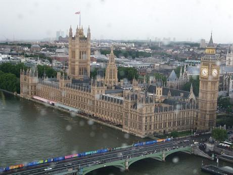 Photo taken from London Eye