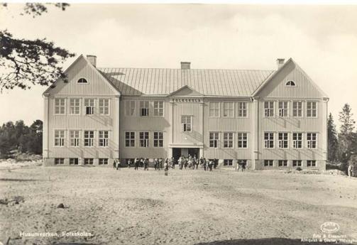 Folkskolan, Husum