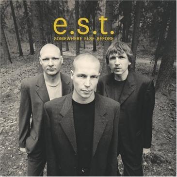 Esbjörn Svensson Trio (e.s.t.) med Esbjörn Svensson i förgrunden