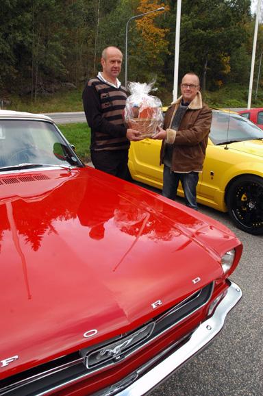Pelle Alenqvist fick priset för snyggste och \