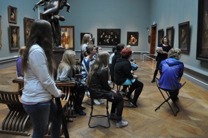 Humaniora åk 1 på Nationalmuseum