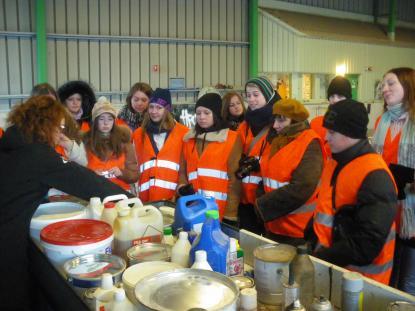Studier av avfallshantering à la Gävle