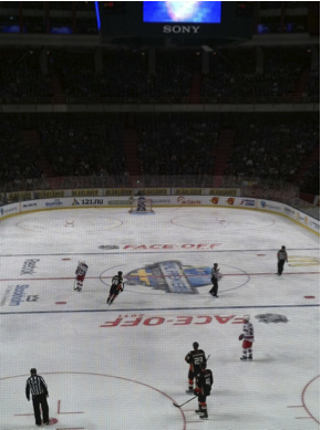 NHL-premi&auml;r 2011 i Stockholm.