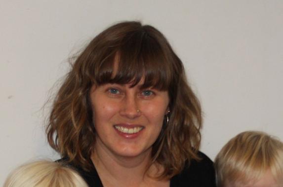 Petra Lindblad på förskoleavdelningen Masken.