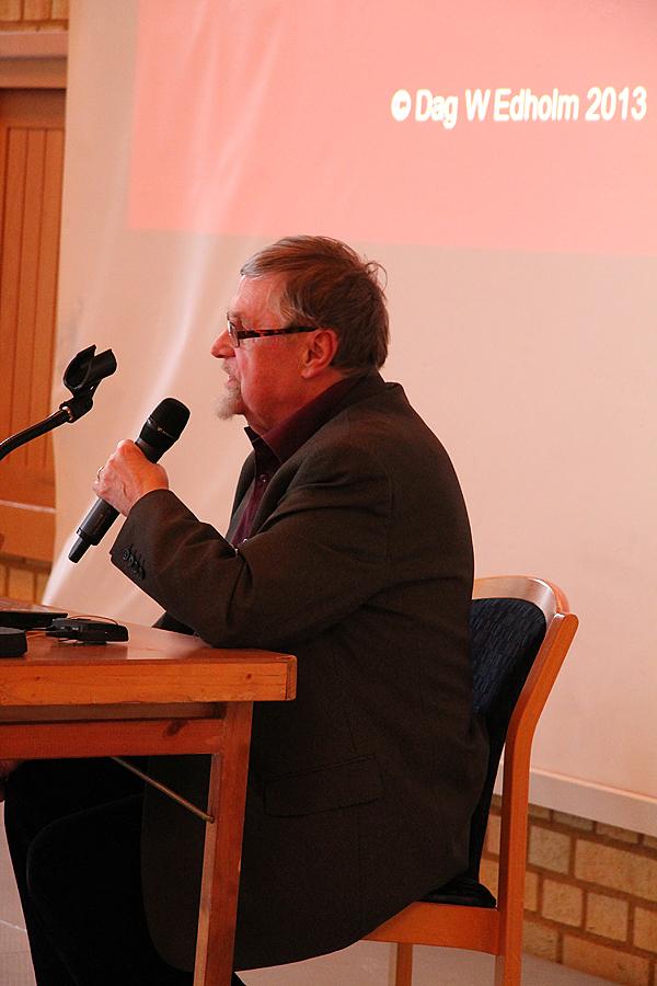<span>Dag Edholm gav föredrag om Setterquist och Åkerman.</span>