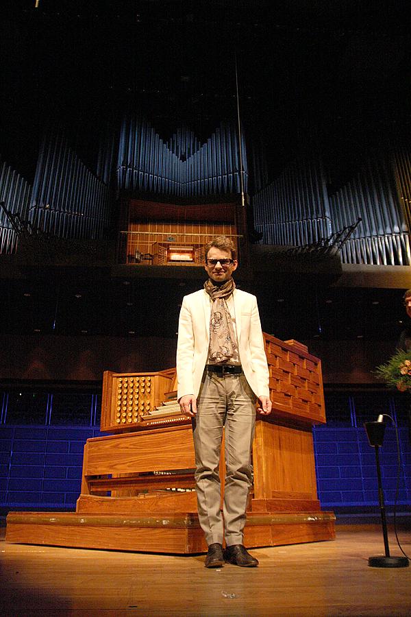 <span>Hampus Lindwall gästade Konserthuset.</span>