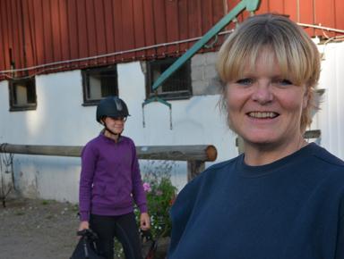Välkomna till vårt 40-årsjubileum, hälsar Lisa Lindmark, ordförande i Bollebygds Ridklubb.