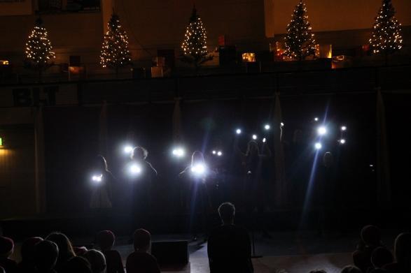 Den största överraskningen för i år stod nog X-dramat för, med sin häftiga ljusföreställning.