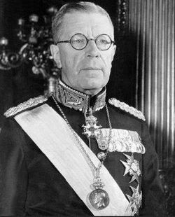 Gustav VI Adolf kring 1952