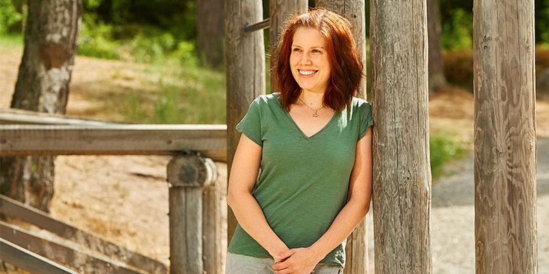 Blir starkare. Styrketräningen har gett Jennie Svensson ett nytt mål i livet. Nu drömmer hon om att bli personlig tränare.