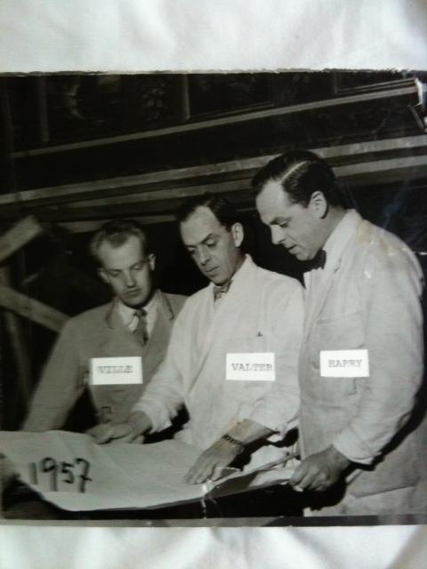 Vilhelm Peterson och bröderna Moberg