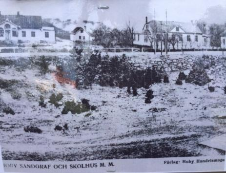 Gamla fotografier från olika platser i Bräkne-Hoby finns nu att se på den nya \