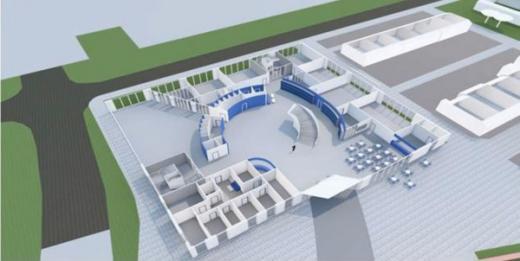 Preliminära ritningar på markplan på den nya skolan. Illustration: Arkitektgruppen Tullberg
