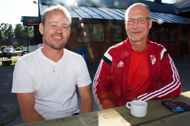Nicklas Edvardsson, hjälptränare och Niclas Reich, lagledare för P03-laget från Håbo FF hade bara positiva upplevelser från vistelsen i Hestrafors och Bollevi. Självklart hade även deltagande i Gothia Cup varit både roligt och lärorikt för grabbarna i laget.